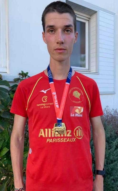 Guillaume champion france semi marathon espoir