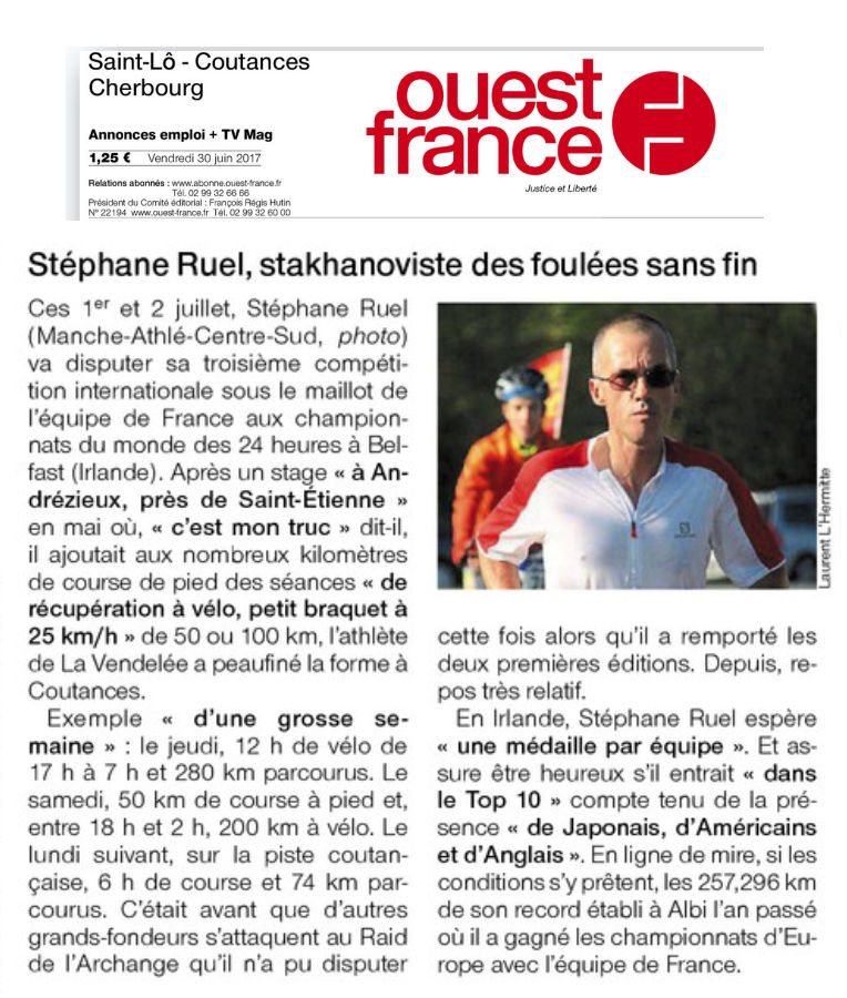 Ouest france 30 06 2017
